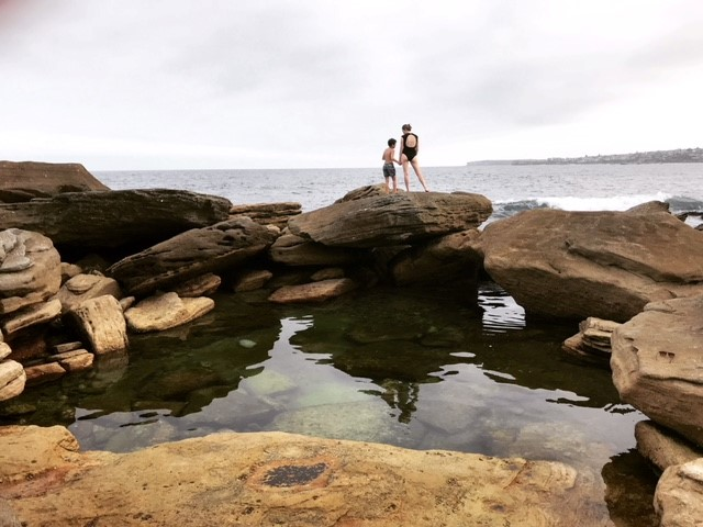 The Clovelly Rock Pools